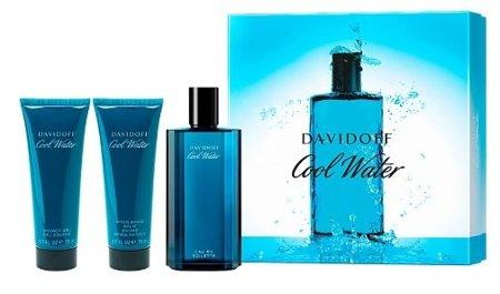 Davidoff Cool Water Men SET EDT 125ml+ 75ml ASB + 75ml SG