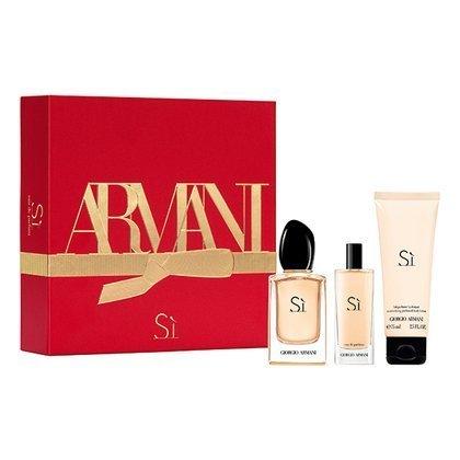 Armani SI PASSIONE EDP 100 ml + 15 ml + balsam SET
