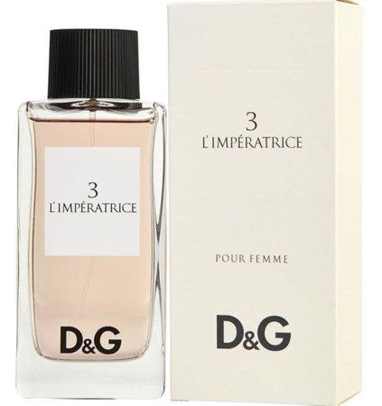 Dolce & Gabbana 3 L'IIMPERATRICE EDT 100 ml GRATIS
