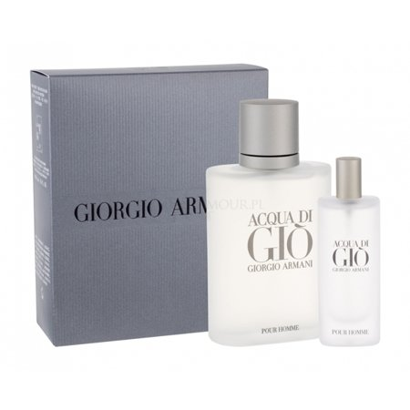 Giorgio Armani Acqua Di Gio EDT 100 ml + 15 ml SET